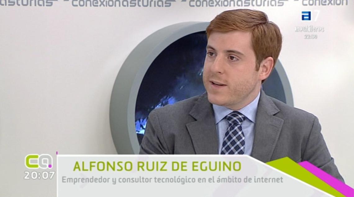 Alfonso Eguino en Conexión Asturias